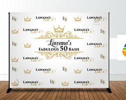 wedding backdrop logo event backdrop etsy
