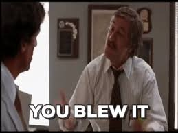You Blew It Meme - jason clarke gif find share on giphy