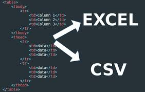 convert json to html table convert your html tables to csv or excel sheet or json file by