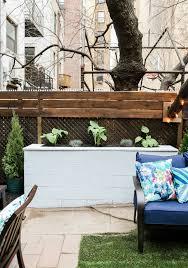 diy cinderblock planter the weekender east coast creative blog