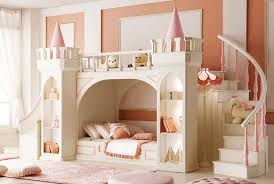 bedroom glamorous girls bunk bed with stairs and slide images of