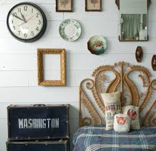 ideas for clocks bedroom shabby chic style with wall art wall