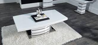 new soho white coffee table scs