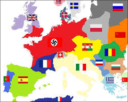 Europe Map During Ww2 by Vichy France Divided States Of America Alternative History