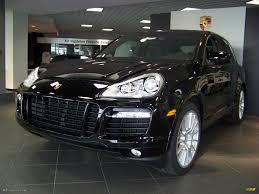 porsche cayenne black 2009 black porsche cayenne turbo s 11374123 gtcarlot com car