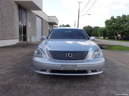 lexus dealers houston tx area 2006 lexus ls 430 for sale in houston tx stock 14601