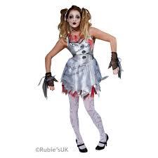 Zombie Halloween Costumes Girls Women Girls Broken Rag Raggy Doll Annabelle Zombie Halloween Fancy