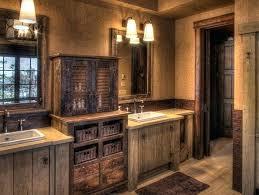 western bathroom designs western bathroom western bathroom decor with wooden mirrors western