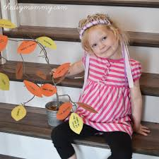 Thankful Tree Craft For Kids - make a thankful tree a thankgiving kid u0027s craft u2013 tip tuesday