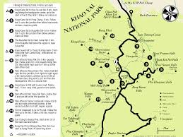 Hiking Maps Activities Hiking Trails In The Park Khao Yai Travel Guide