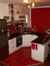 Red Kitchen With White Cabinets I U0027ve Decided This Is How I Want My Kitchen Red Walls White