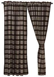 Plaid Blackout Curtains Loon Peak Shea Plaid And Check Blackout Rod Pocket Single Curtain