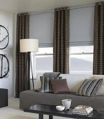Contemporary Window Curtains Modern Window Treatments Day Blinds Living Room Golfocd