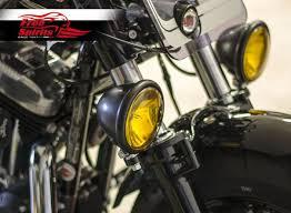 harley davidson lights accessories light bracket right kit for harley davidson sportster forty eight