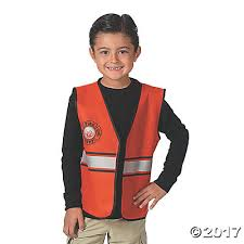 Firefighter Halloween Costume Vest