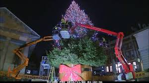 covent garden christmas tree time lapse youtube