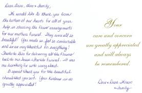 thank you for funeral flowers thank you card sles thank you cards for funeral flowers