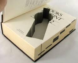 Unique Storage Real Secret Unique Storage Custom Cut Into Classic Books