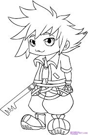 7 how to draw chibi sora from kingdom hearts