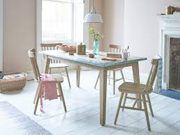 kitchen zinc table wooden dining table loaf