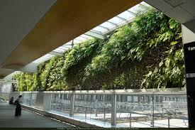 native plants of japan shin yamaguchi station vertical garden patrick blanc
