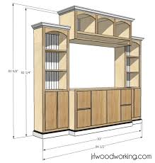 Dvd Cabinet Woodworking Plans by 25 Best Custom Entertainment Center Ideas On Pinterest Modern