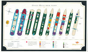 deck plans disney magic u0026 disney wonder u2022 the disney cruise line