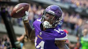 stefon diggs shows eminem themed cleats for thanksgiving
