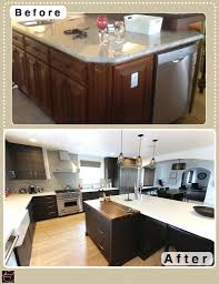 Black Modern Kitchen Cabinets Long Beach Black Contemporary Modern L Shaped Kitchen And Bathroom