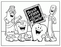 Free Printable Dental Coloring Pages Print Free Printable Dental Brushing Teeth Coloring Pages