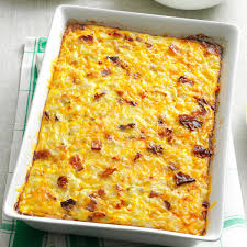 hash brown egg bake recipe taste of home