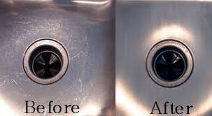 how to polish stainless steel sink how to clean stainless steel sink scratches homeaholic net
