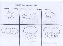 Kindergarten Weather Worksheets Weather Preschool Kindergarten Misstesl
