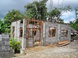 building a concrete block house u2013 part 3 philippines