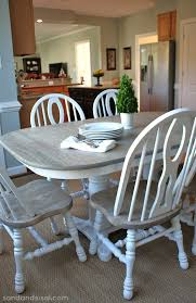 grey kitchen table and chairs how to refinish a table sand and sisal