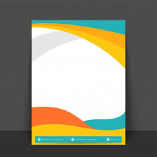 banner design jpg abstract flyer template or banner design with colorful waves and