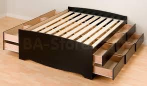 King Platform Storage Bed Sale 614 00 Prepac 12 Drawers Platform Storage