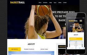 basketball a sports category flat bootstrap responsive web
