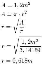 fläche kreis formel fläche kreis