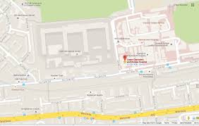 London On Map Contact Us London Consultant Obstetrician And Gynaecologist Ms