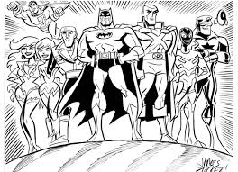justice league brave and the bold version by james tucker in