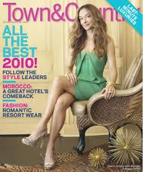 cover of town u0026 country with kelly wearstler january 2010 id