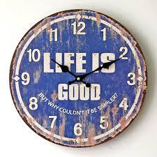 horloge murale pour cuisine vintage en bois horloge murale pour cuisine chambre nostalgique
