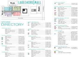 Michigan City Outlet Mall Map by Lakeshore Mall Store List Hours Location Gainesville