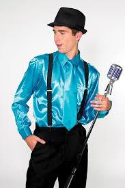 909 satin dress shirt with matching tie u0026 hanky