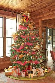 Brown And Turquoise Christmas Tree Decorations by Christmas Tree Decorating Ideas Southern Living