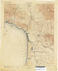 California Map California Topographic Maps Perry Castañeda Map Collection Ut