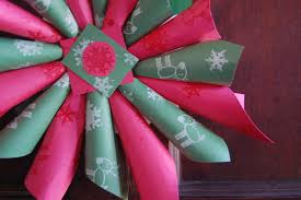 wrapping paper christmas gift art project clipart