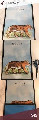gucci bengal tiger xl shopping or gift bag bengal tiger