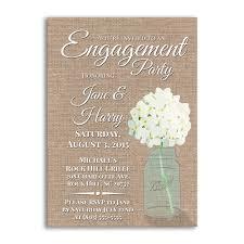 Invitation Engagement Card Engagement Party Invites Engagement Party Ideas Burlap